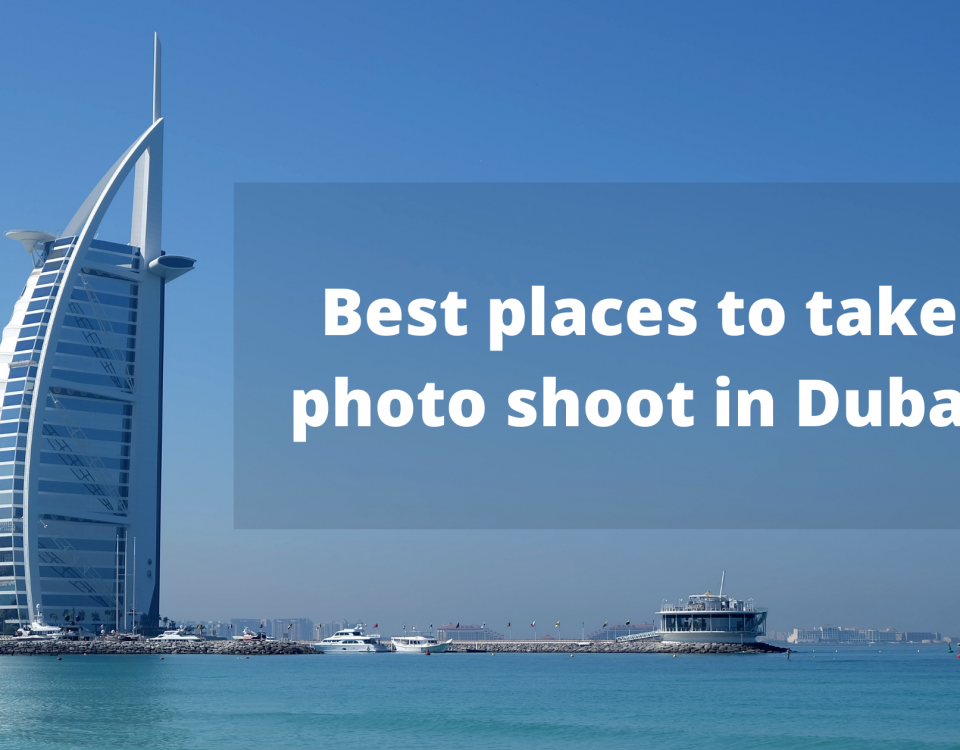 Best places to take photo shoot in Dubai